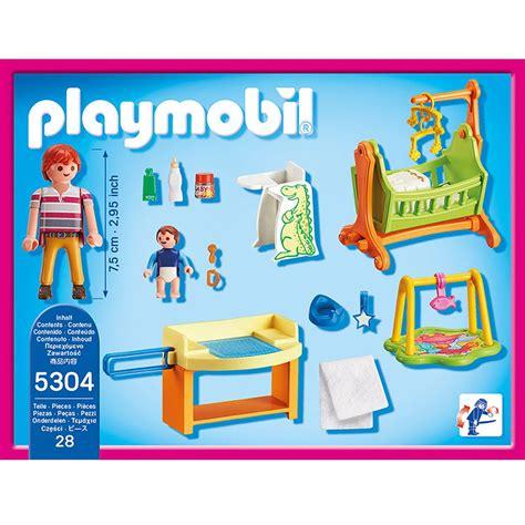 chambre de bébé playmobil chambre de bébé playmobil dollhouse 5304 la grande récré
