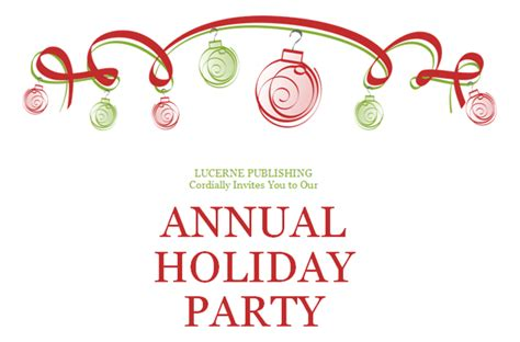 christmas party invitation template theruntime com