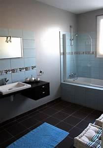 best salle de bain blanc gris bleu images lalawgroupus With salle de bain bleu gris