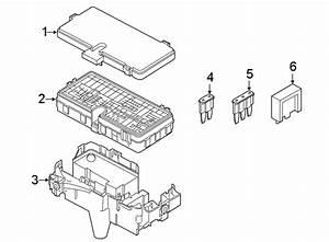 Ford Police Interceptor Utility Fuse Box Bracket  Body