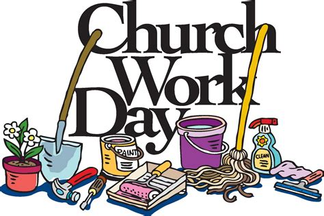 cleaning day zion lutheran church