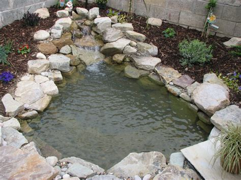 pond waterfalls pictures pond waterfalls here s a small and simple pond wate
