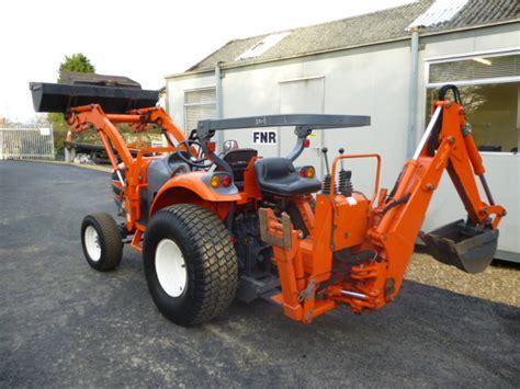 sold kioti ck compact tractor  loader bac
