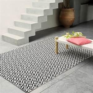 tapis en serail les confettis With tapis noir et blanc scandinave