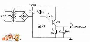 simple transistor regulator power circuit circuit diagram With mosfet regulator circuit