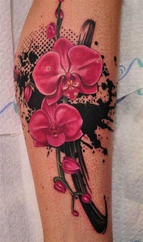 orchid tattoo  pinterest tattoos  orchids orchid