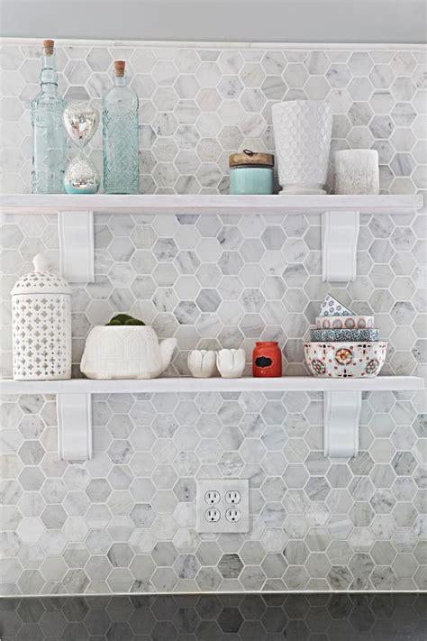 hexagon tile kitchen backsplash 36 eye catchy hexagon tile ideas for kitchens digsdigs