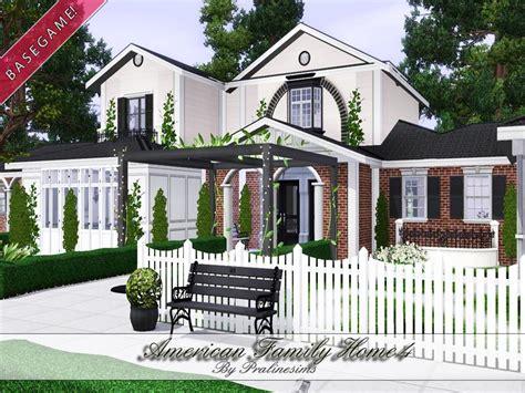 pralinesims american family home