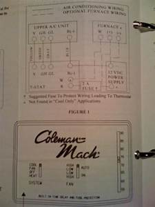 Colman Mach Thermostat Wiring Diagram