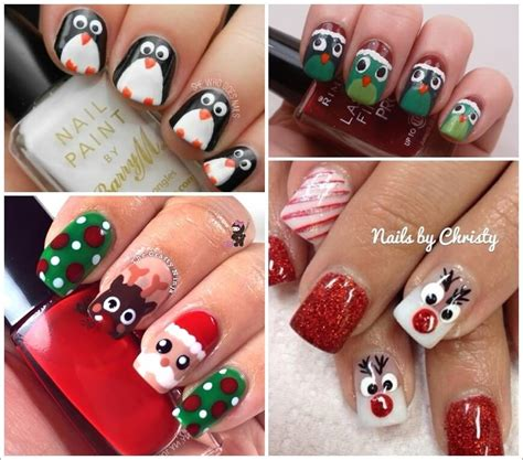cool christmas designs loads of cool christmas nail art ideas are here