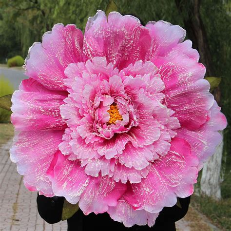 flowers with large blooms extra large peony flower queen artificial flower peoperties child adult peones umbrella