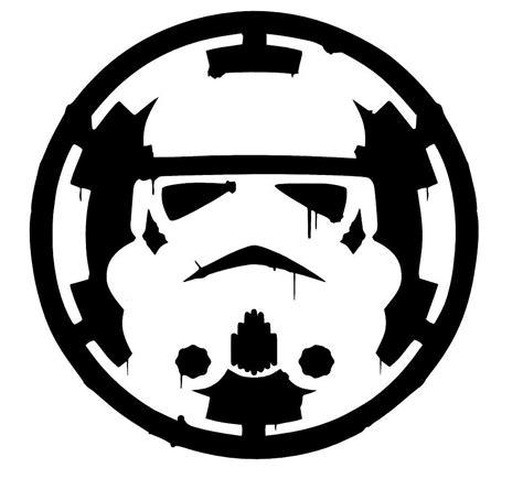 Darth Vader Pumpkin Carving Ideas by Star Wars Storm Trooper Over Empire Sticker