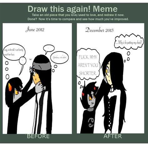 Draw This Again Meme Fail - draw this again meme shoosh fail by wildcatprincess4ever on deviantart