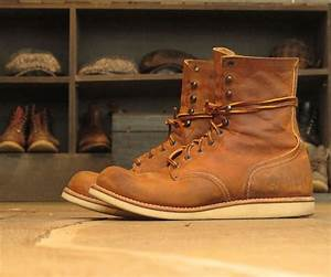 Red Wing Berlin : red wing round toe 4572 in copper rough tough heavy worn for about 30 days what an ~ Markanthonyermac.com Haus und Dekorationen