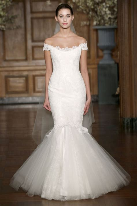 hottest   shoulder wedding dresses ohh