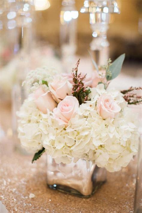 wooden tables hydrangea wedding centerpieces ideas jennefer s colors
