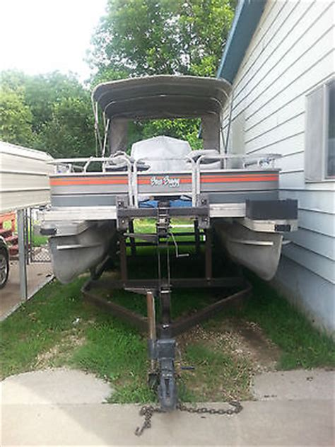 Used Boat Trailer For Sale Kansas City by 1988 Suntracker Family Pontoon For Sale In Junction City