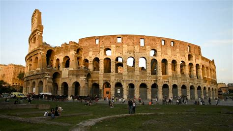 Free Colosseum In Rome by Ancient Colosseum In Rome Stock Footage 100