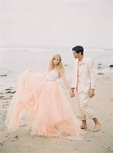 pink beach wedding styled shoot glitter incglitter inc With pink beach wedding dresses