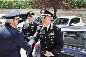 Visita del Comandante della Legione Carabinieri Calabria, alla Questura di Cosenza