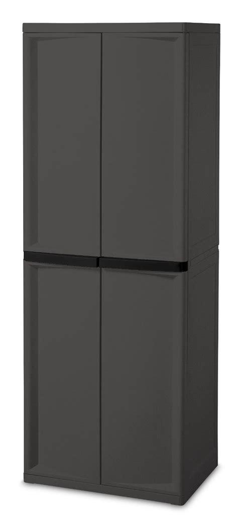 Sterilite 2 Shelf Utility Cabinet by Sterilite 4 Shelf Cabinet 68 99 123bargains