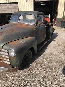1952 Chevrolet 3100 Pickup Green Rwd Manual For Sale