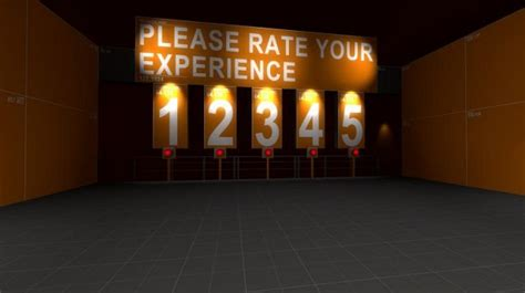 stanley parable experience rating board  stanley