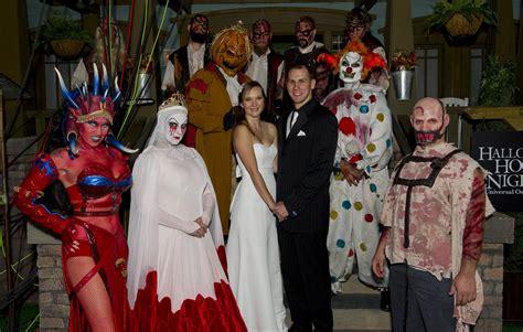 A Halloween Horror Nights Wedding?