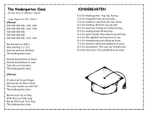 best 25 kindergarten graduation songs ideas on 119 | d6fdc9ecfa5d3b54852a502615ee1227 kindergarten songs kindergarten classroom