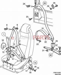 4629705  Saab Seat Belt