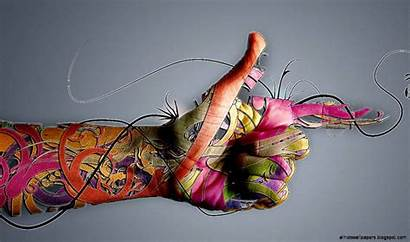 Abstract Wallpapers Hands Desktop Tattoos