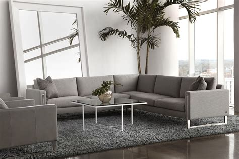 American Leather Savino Sectional Sofa