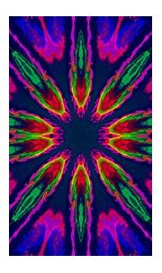 Artistic Colorful Blue Pink And Green Colors Digital Art ...