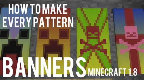 minecraft halloween recipes banners festival collections