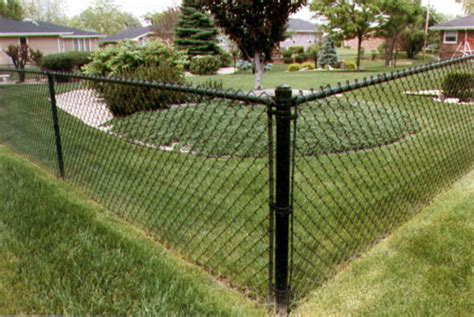 55 Vinyl Coated Chain Link Fence Colors, Vinyl Fencing