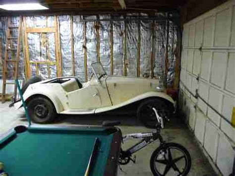 Project Cars Garage by Buy Used 1952 Mgtd Kit Car Project Car Garage Find In