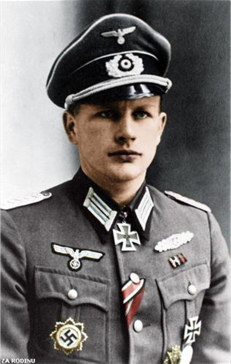 Most Decorated German Soldier by Colorizations By Users German Officer