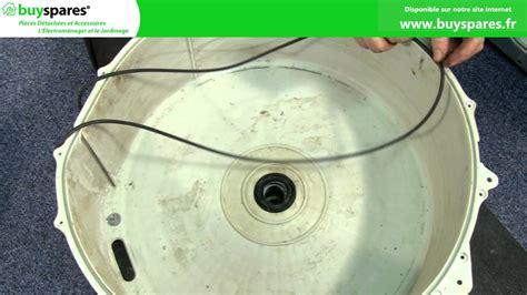 comment remplacer les roulements d un lave linge