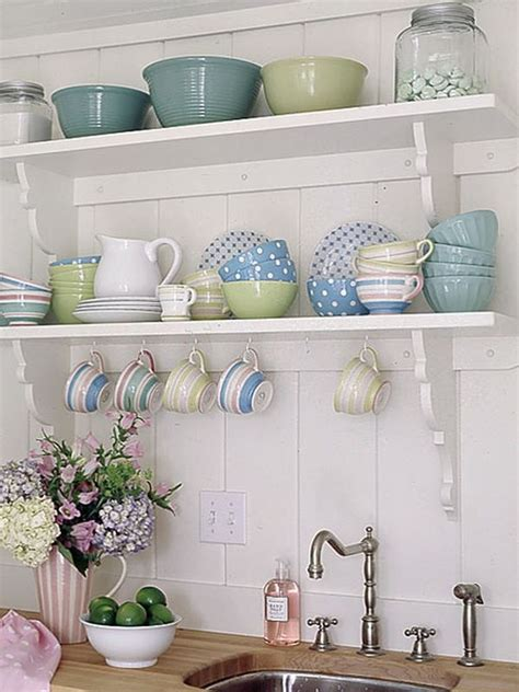 country kitchen shelves tips for open kitchen shelving aesthetic and useful 2887
