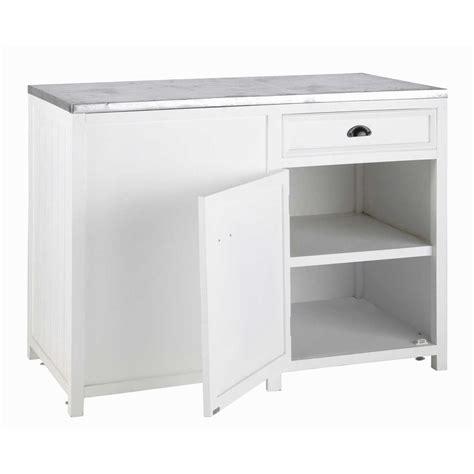 meuble bas de cuisine 120 cm meuble bas de cuisine ouverture gauche en pin blanc l 120