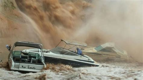 Boating Accident Lake Powell by Flash Flood At Lake Powell Sinks Boat Houseboat Magazine