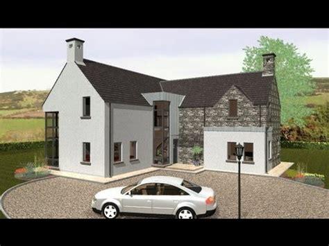 irish house plans dorm exterior youtube