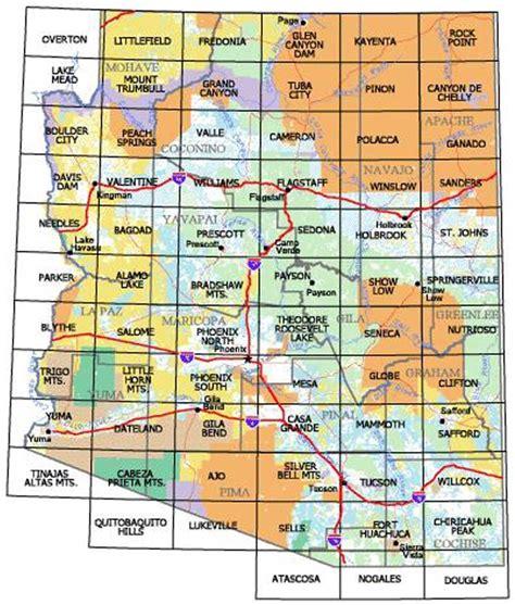 az bureau arizona map blm land