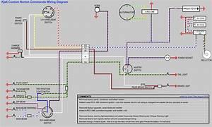 Custom Norton Commando Wiring Diagram