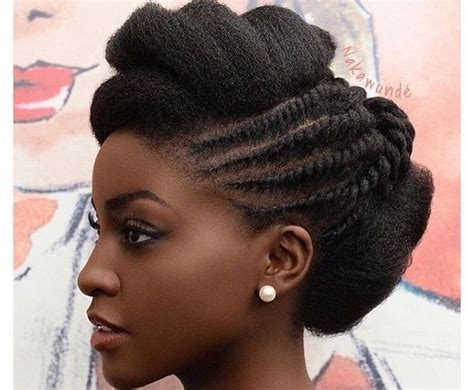 25+ Best Ideas About Elegant Natural Hairstyles Black On
