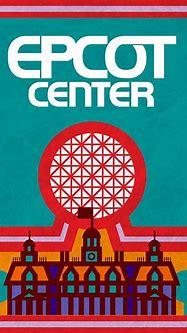 Retro Epcot Center Map Poster by e82designs | Epcot center