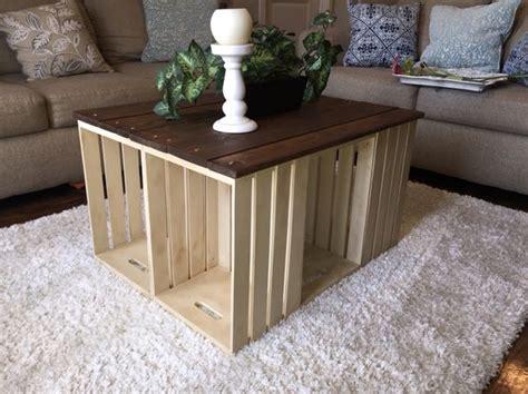 Tavolini fai da te con cassette di legno! 20 idee creative
