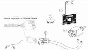 62138 Blizzard Plow Light Toggle Switch Connection Kit