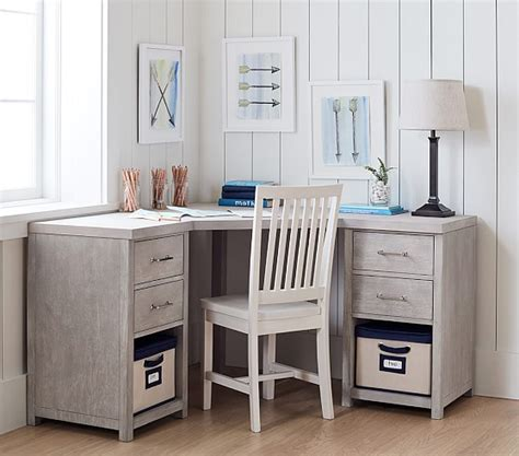 pottery barn corner desk everett modular corner desk pottery barn
