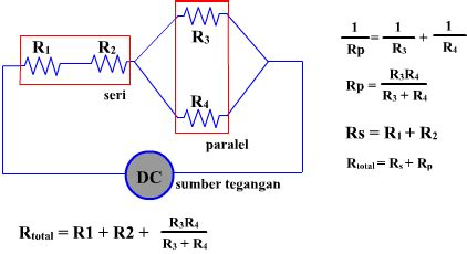 rangkaian seri dan paralel panduan teknisi